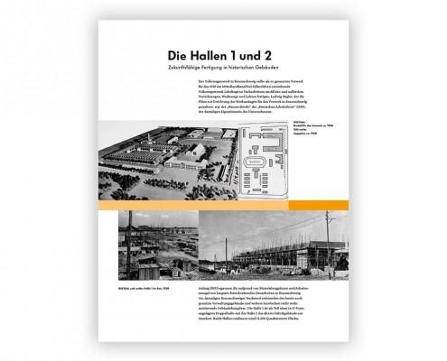 Volkswagen – »Infotafeln Braunschweig«
