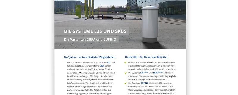 moklansa – »Die Systeme E3S und SKBS – Die Varianten CUPA und CUPINO«