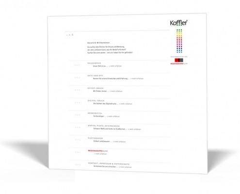 Website:Koffler DruckManagement GmbH