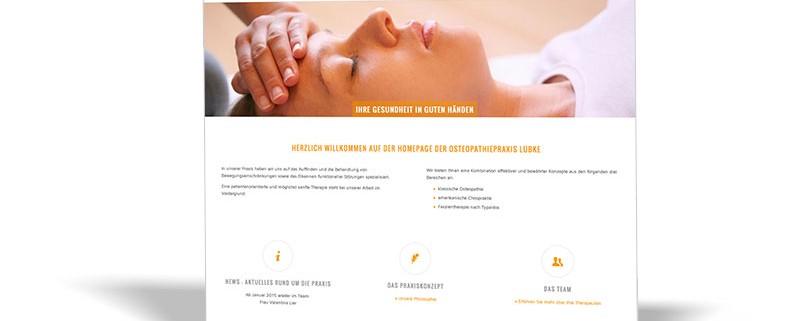 Website: Osteopathiepraxis Sven Lübke