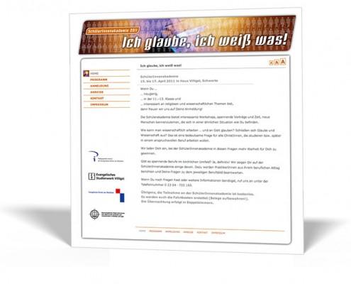 Website:Schülerakademie Villigst