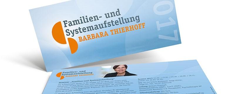 Barbara Thierhoff – »Familien- und Systemaufstellung«