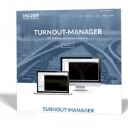 Hujer-Software – »Turnout-Manager – die Software für die Bahnindustrie«