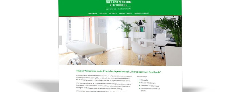 WEBSITE: Therapiezentrum Kirchhörde